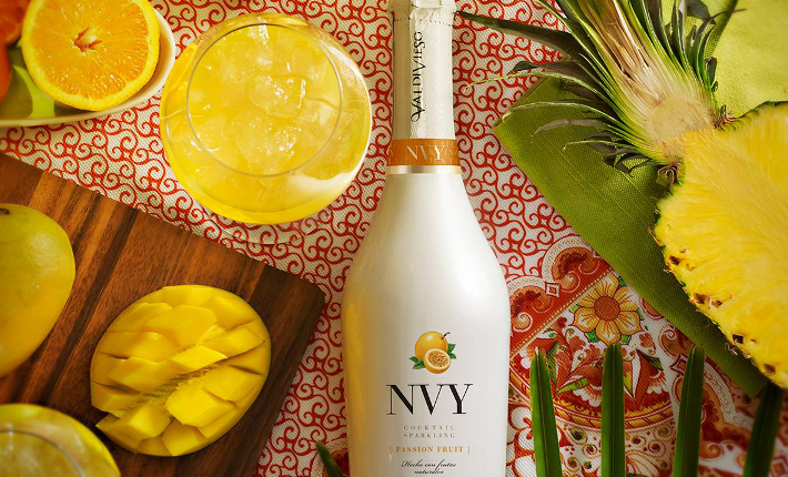 NVY sparkling cocktail wine